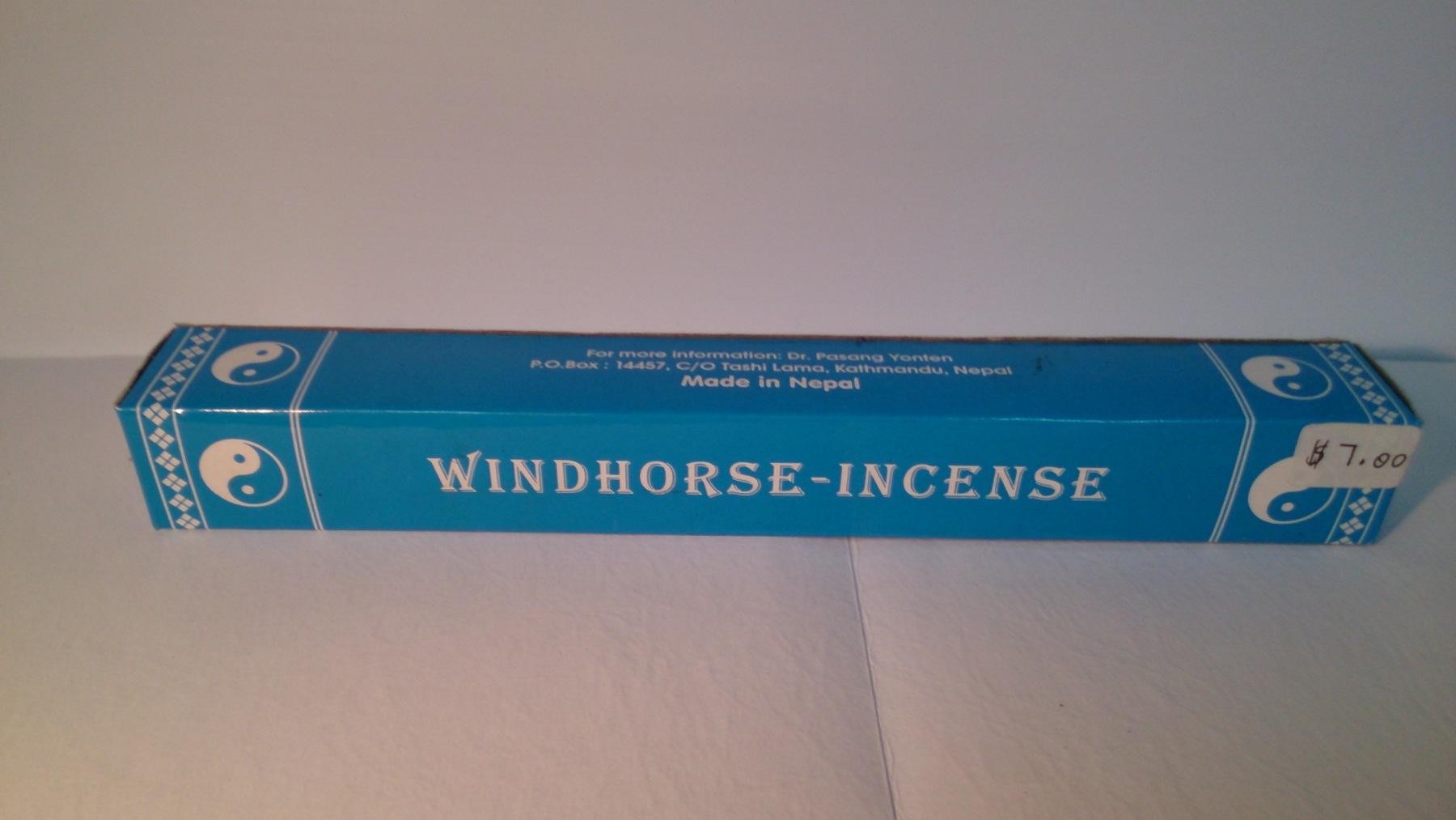 Windhorse incense