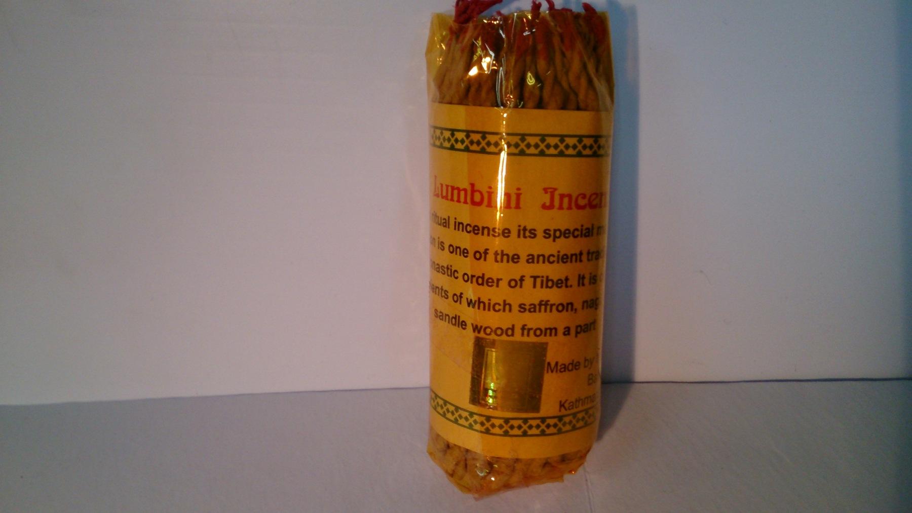 Lumbini rope incense